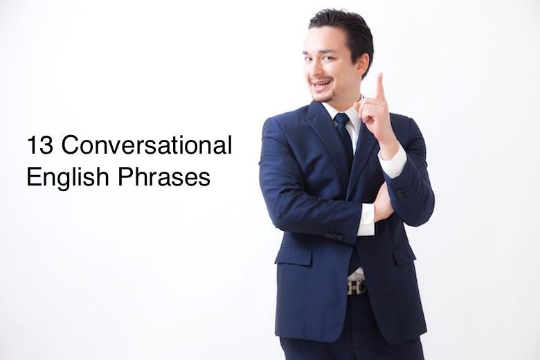 使える英語!日常的な英会話で使える英語のフレーズ13選